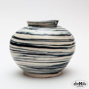 agateware-porcelaen-vase