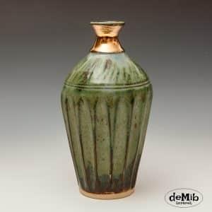 Vase med guld
