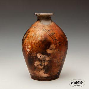 Pitfire vase i stentøj