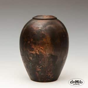 Pitfire vase i porcelæn