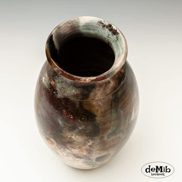 Høj Pitfire Vase