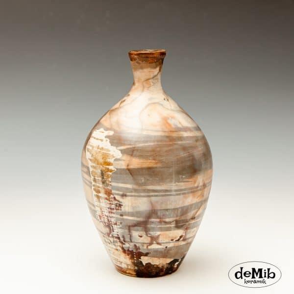 Lille Pitfire Vase med Råt Utryk