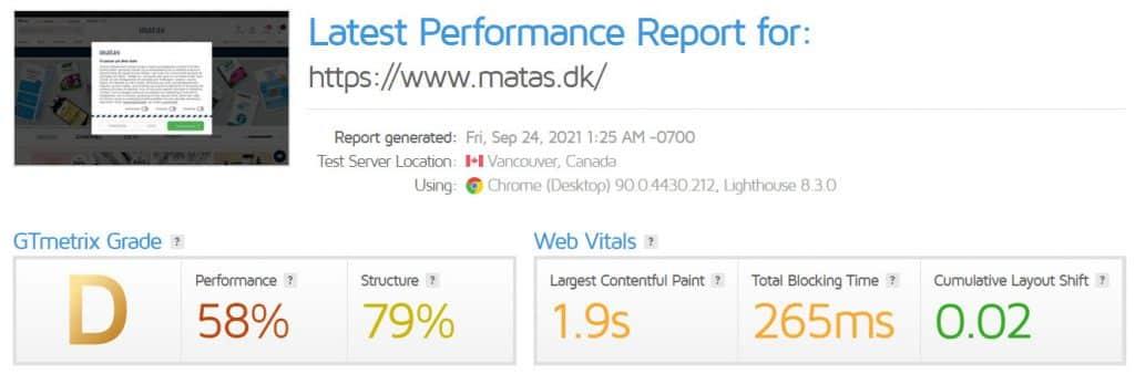 matasdk-pagespeed-3-gtmetrix